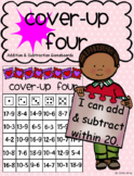 Cover-Up FOUR ~ Addition & Subtraction Within 20