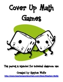 Cover Up Math Games for Numbers 10-20