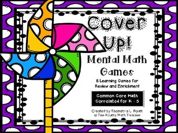 Cover Up! Mental Math Games