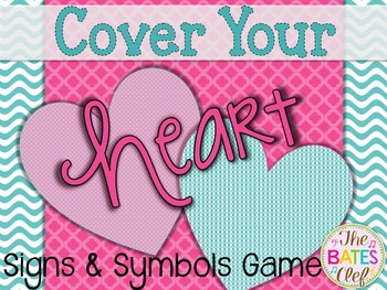 Cover Your Heart Valentine Board Game