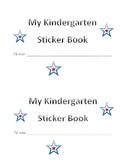 Cover for Sticker Book