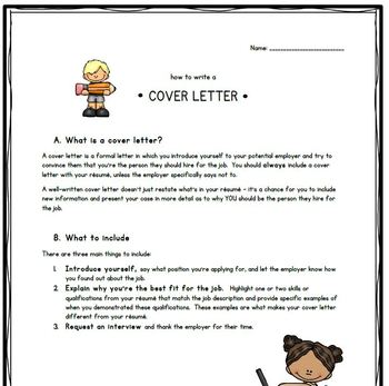 Cover letter-writing guide for students