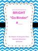 Cover page, Spine , and Back cover for Binders Editable