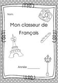 Cover page for French / page de couverture pour le Francais