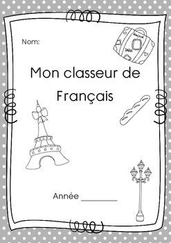 Cover page for French / page de couverture pour le Francais