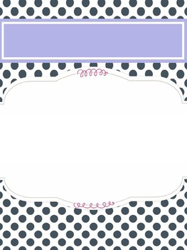 Cover page -polka