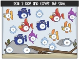 Cover the Fish {Adding 3 Numbers} Game