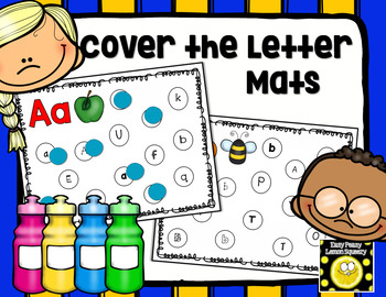 Cover the Letter Mats
