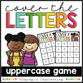 Cover the Letters Bundle {Small Group Games}