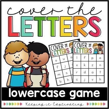 Cover the Letters Bundle {Small Group Bingo Games}
