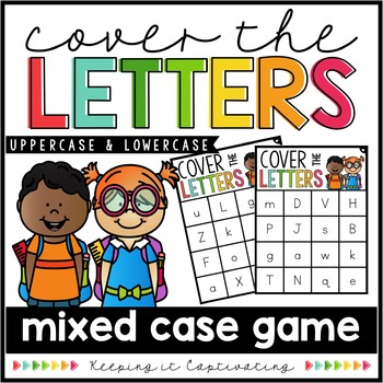 Cover the Letters {Mixed Case Game}