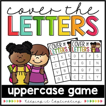 Cover the Letters {Uppercase Game}