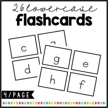 Cover the Letters {Lowercase Bingo Game}