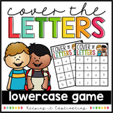 Cover the Letters {Lowercase Game}