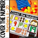 Kindergarten Math: Teen Numbers 11 - 20 Subitizing Mats