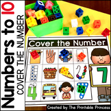 Cover the Number Kindergarten Math: Numbers to 10