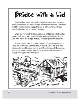 Covered Bridge: American History Mini Lesson for Grades 1–3