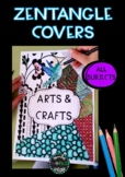 Covers Zentangle Boho Coloring pages Ethnic Mandala All Subjects
