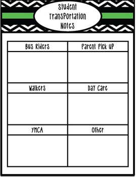 Covers and Inserts for your Teacher Binder