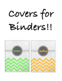 Covers for Binders!!