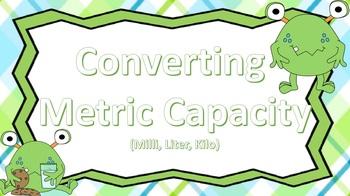Coverting Metric Capacity ((Green Monster Theme))
