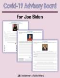Covid-19 Advisory Board for Joe Biden