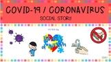 Covid-19/ Coronavirus Social Story: Healthy Habits