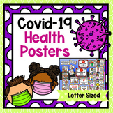 Covid-19 Health Safety Posters - Letter Sized