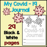 Covid-19 Journal - 29 Pages of Reflection and Activities -