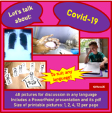Covid 19 picture cards for discussion
