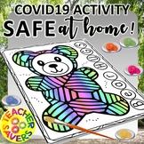 Covid-19 Safe at home activity sheets