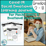 Covid 19 Social Emotional Learning Journal - Mental Health