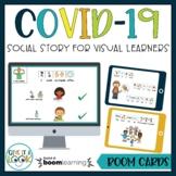 COVID Social Story   BOOM CARDS