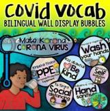 Covid-19 Vocabulary Wall Display Bubbles