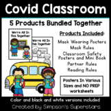 Covid Classroom BUNDLE | COVID 19 Classroom Safety Posters