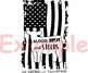 Cow American Flag show heifer Silhouette SVG cowboy 4th July Farm Milk 892S