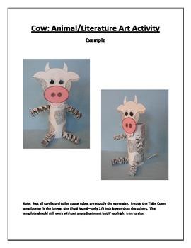 Cow: Animal/Literature Art Activity