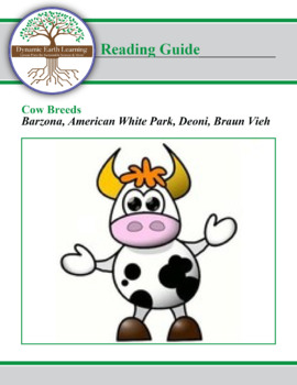 Cow Breed Research Guide:  Barzona, American White Park, Deoni, Braun Vieh