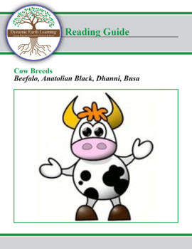 Cow Breed Research Guide:  Beefalo, Anatolian Black, Dhanni, Busa