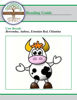 Cow Breed Research Guide:  Berrendas, Aubrac, Estonian Red, Chianina