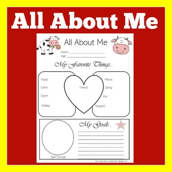 Cow Classroom Theme   Cow Theme All about Me