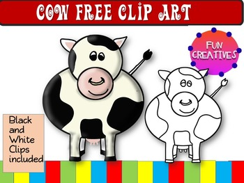 Cow Clip Art Free