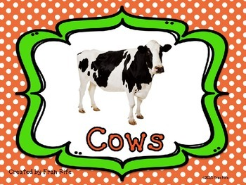 Cow Facts Power Point