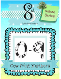 Cow Print Number Clip Art