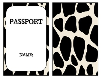 Cow Print Themed Welcome Pack