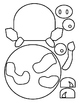 Cow Puppet Pattern or Valentine Treat Bag Pattern