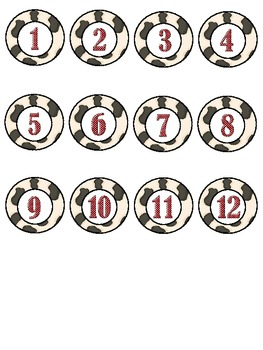 Cow Theme Numbers
