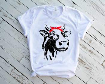 Cow with Bandana Not today Heifer