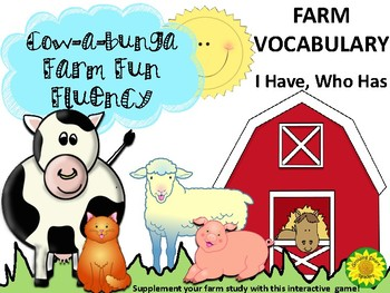 Fluency Game Farm Theme