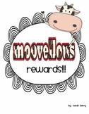 Cow punch cards and behavior rewards